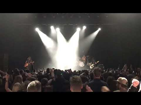 Dashboard Confessional - Hands Down (Live) - Melbourne Forum Sep 13 2017