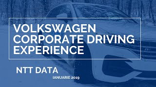 Touareg Corporate Winter Driving Experience - NTT DATA