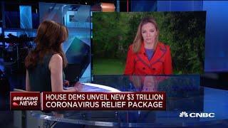 House Democrats unveil new $3 trillion coronavirus relief package