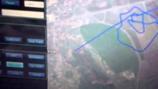 skyhunter fy 605 gcs 3 х мерное изображение полета бпла маршрут