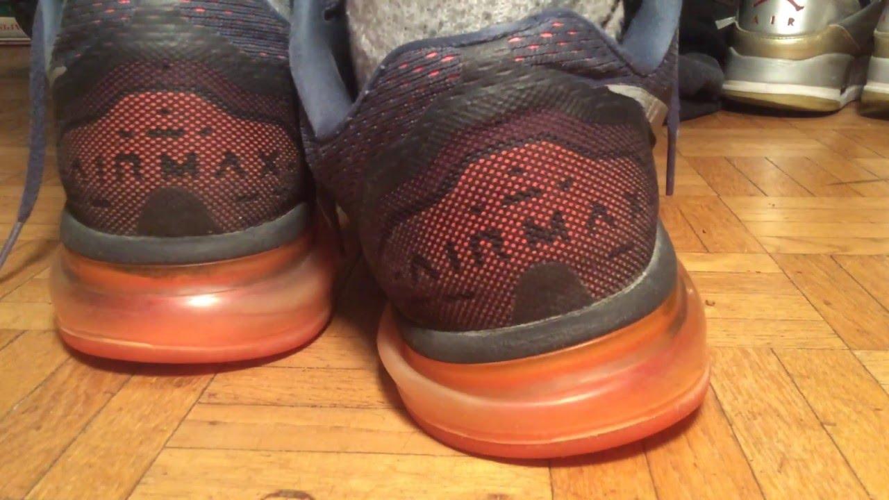 new style 6f2f8 744ef Nike air Max 2014 grey crimson purple on feet