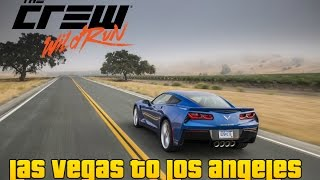 The Crew Wild Run: Las Vegas To LA | Corvette Stingray