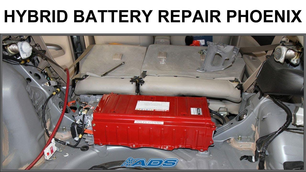 Hybrid Battery Repair Phoenix Prius Ford Escape Ads Auto Chandler