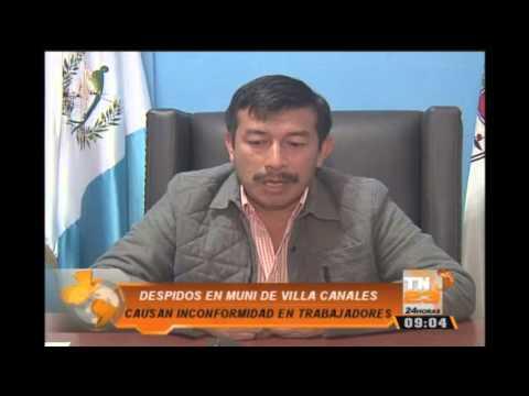 Despidos en Municipalidad de Villa Canales afectan a trabajadores