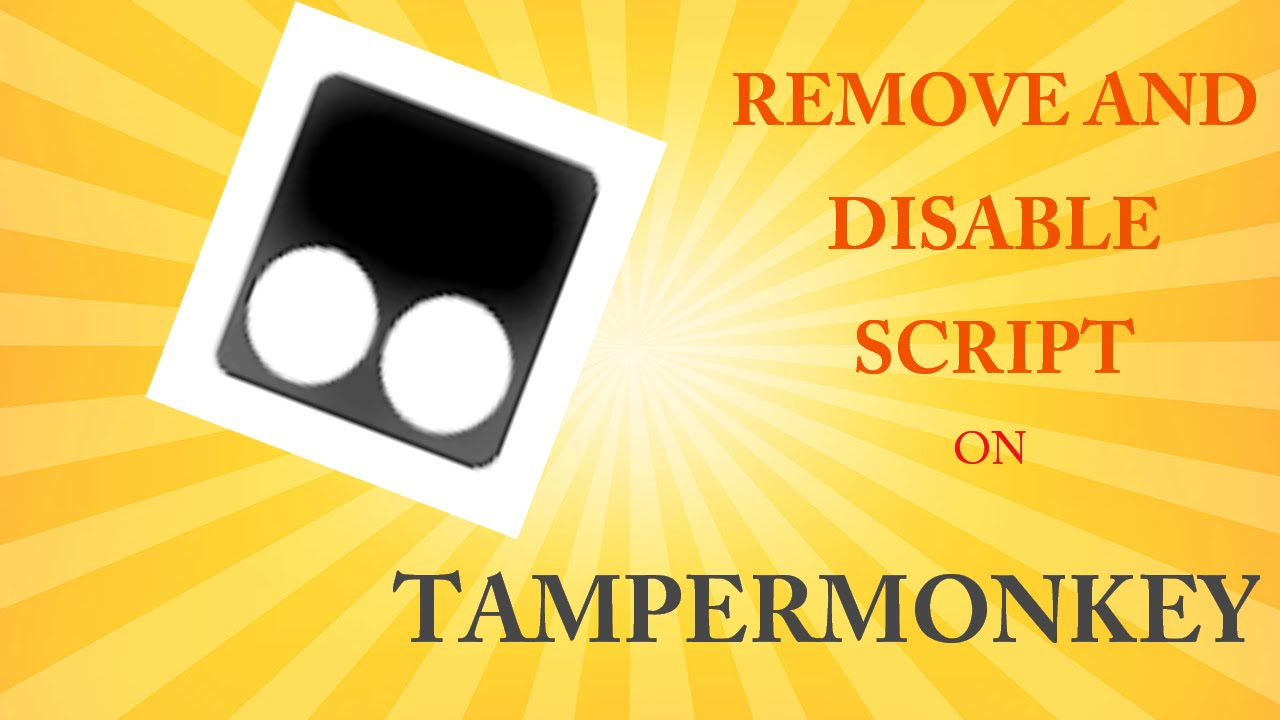 How to Remove/Disable Tampermonkey