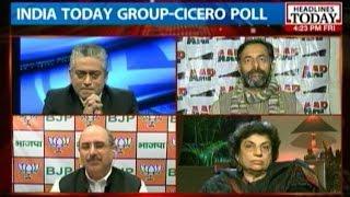 Delhi Election Tracker: AAP vs BJP in Delhi
