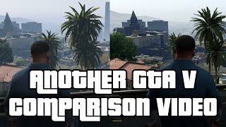 Another GTA 5 Comparison Video - PS4 vs PS3 - VideoGamer