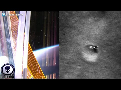 INSANE Discovery Of Giant Alien Object On Moon, New ISS UFO & More! 8/13/16