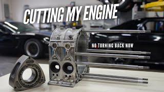 I start cutting into my Rotary Engines!  More HP coming.
