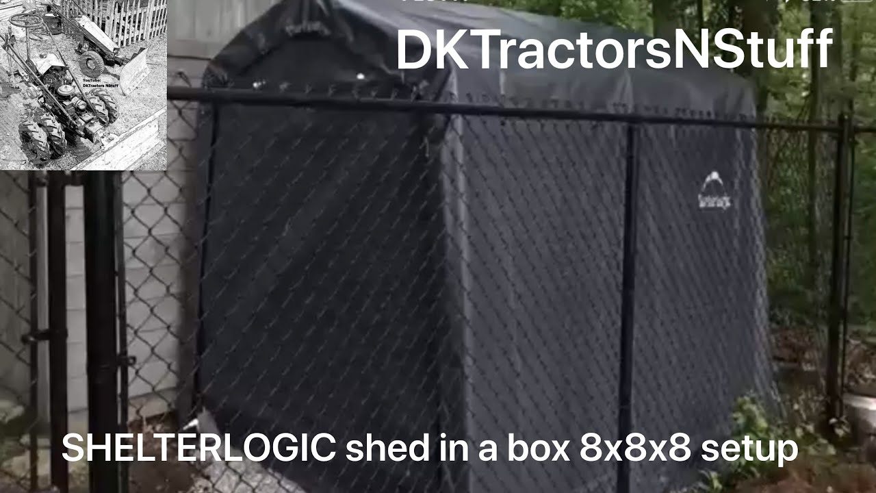 youtube in shed box sheds roundtop a watch shelterlogic