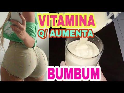 VITAMINA PROTEICA  Q/ AUMENTA O BUMBUM