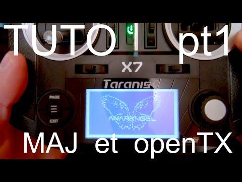 Tuto Taranis QX7 (PT1) : Mise à jour firmware et open TX