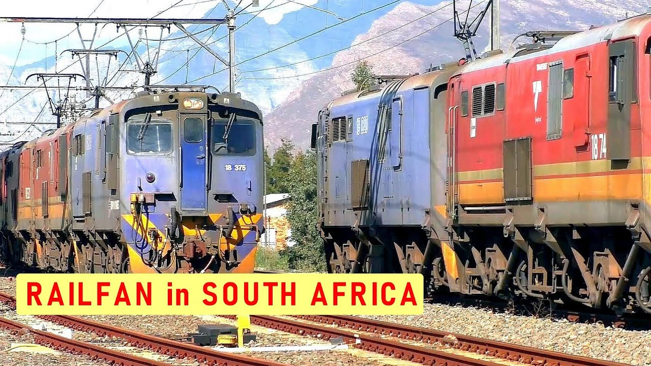 2 days needed to chase a Gypsum Train | Collaboration Video | TRANSNET freight | Train South Africa
