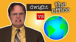 Dwight Schrute Vs The World   The Office US