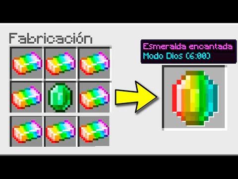 ¿Cómo CONSEGUIR LA ESMERALDA SUPER CHETADA en MINECRAFT? 😱 Invictor y ElMayo97 Minecraft #3