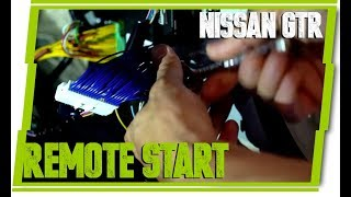 Nissan GTR Remote Engine Start (Plug and Play) - Easy Install Guide