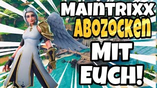 ABOZOCKEN MIT EUCH!!!!/CUSTUM GAMES!!! FORTNITE LIVESTREAM/ DEUTSCH