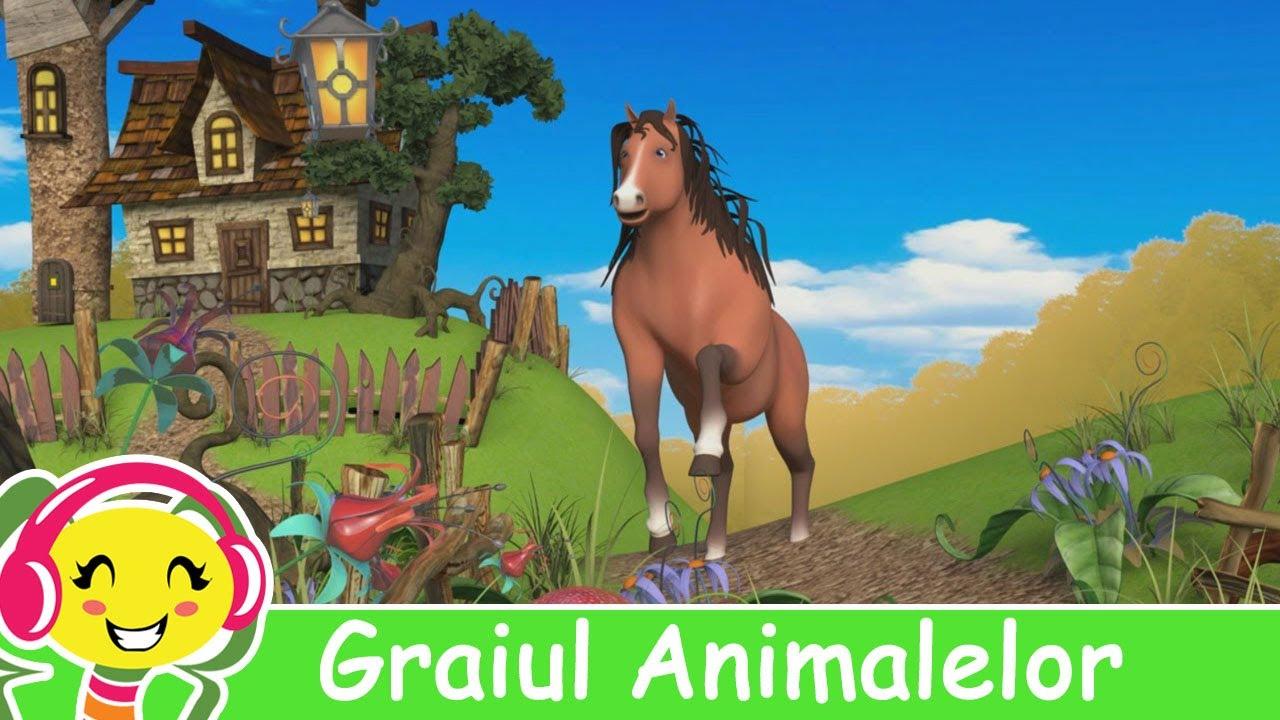 Graiul Animalelor - CanteceGradinita.ro - Cantec pentru copii cu animale