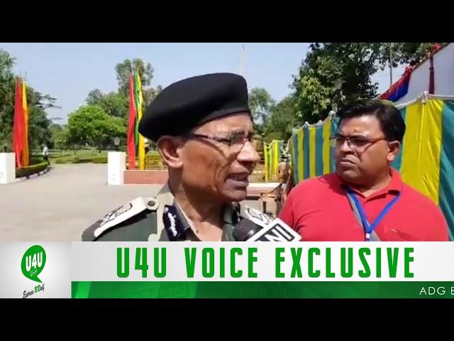 ADG BSF AK Sharma Interact With U4U Voice About Smart Fencing On International Border