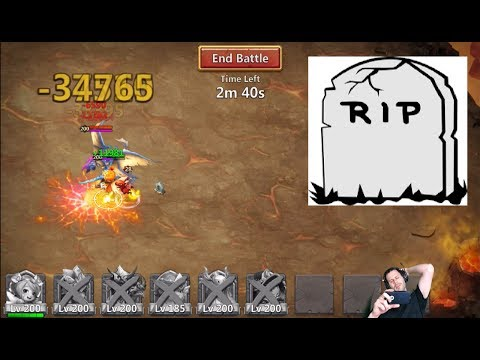 I Need Help With ArchDemon WHY DO I KEEP FAILING! Castle Clash