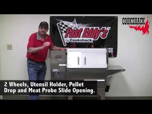 Fast Eddys PG500 Pellet Grill Features