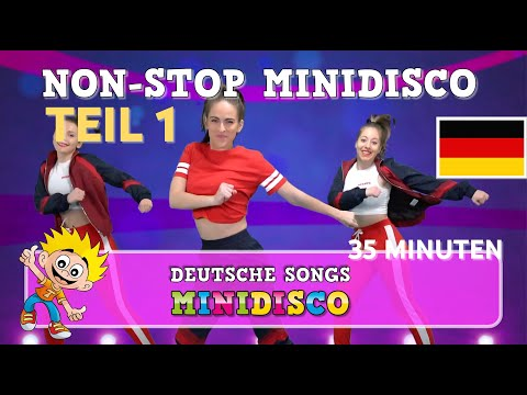 Minidisco 2018 | Deutsche Kinderlieder | TANZANWEISUNG | Urlaubslieder | NEU 2018