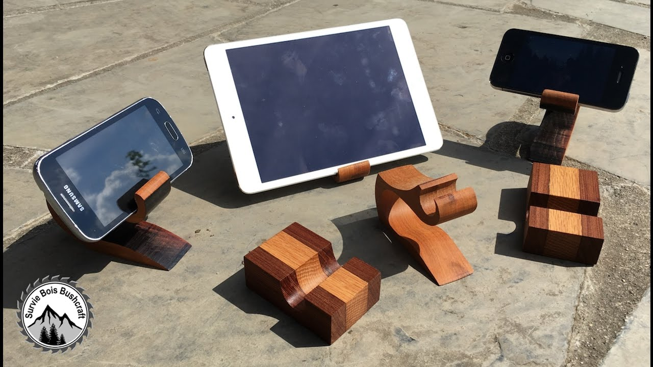 nouveau comment fabriquer des supports en bois pour vos. Black Bedroom Furniture Sets. Home Design Ideas