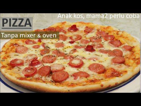 Rahasia Pizza Teflon Sukses Anti-Gagal No Gosong | Puguh Kristanto Kitchen.