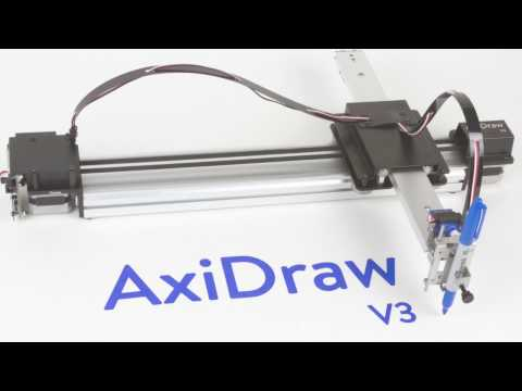 AxiDraw V3 - YouTube