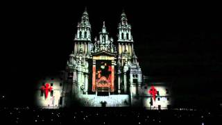 OFFICIAL VIDEO Spectacular 3D Projection Mapping Cathedral of Santiago 2011