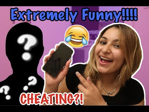 """ANOTHER MAN ANSWERING MY PHONE"" PRANK ON BOYFRIEND!! + GIVEAWAY"