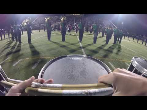 Jamestown high school Snare cam half time show