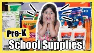 Buying Her FIRST School Supplies! BACK TO SCHOOL   June 14, 2019