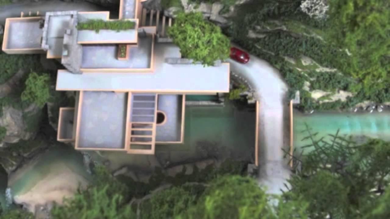 Official Fallingwater Model YouTube