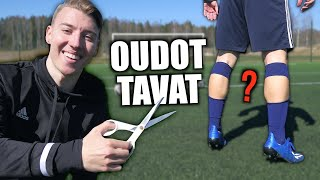 Strange Habits of Footballers - Reacting with Players!