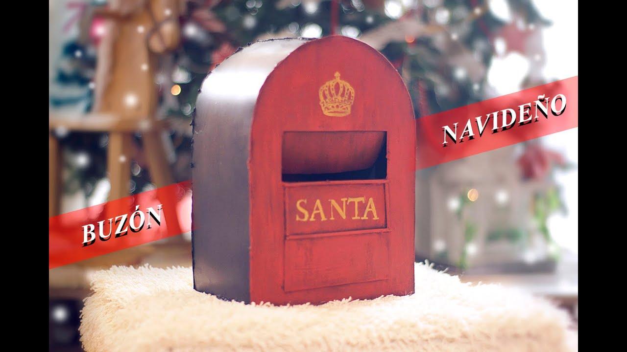 Buzon navide o vintage manualidades faciles decoracion for Menu navideno facil de hacer