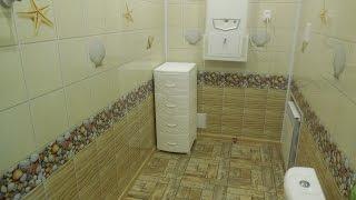Отделка панелями Ванной и Туалета, отделка пластиковыми панелями ванной ПВХ(Можно ли КРАСИВО сделать отделку панелями ванной и туалета, отделка пластиковыми панелями ванной, ремонт..., 2016-09-01T15:45:36.000Z)