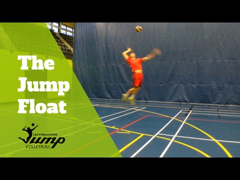 How to jump float serve - Tip of the Week #35