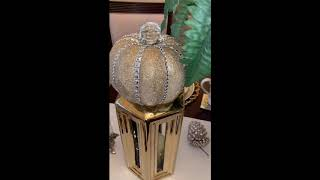 Glam Fall Tablescape Challenge Hosted by Kenya's Decor Corner & Diva Design on a Dime/Tour 2018