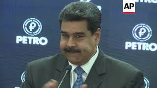 Maduro launches trading of Venezuela's crypto currency, the petro