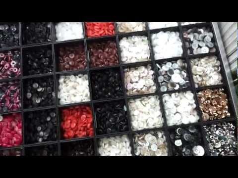 Buttons and Buttons in Dongdaemun, Seoul! - Tuesday Seoul - Expertly Dyed