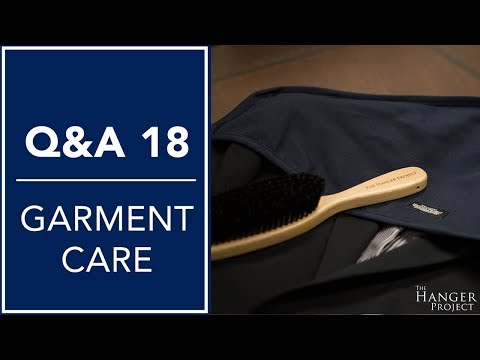 Garment Brush Cleaning Tips, Cedar Blocks, And More - Q&A 18 | Kirby Allison