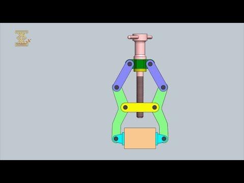 Lever Type Screw Actuated Clamp Mechanism 11