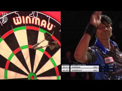 Deta Hedman vs Fallon Sherrock Denmark Open 2017