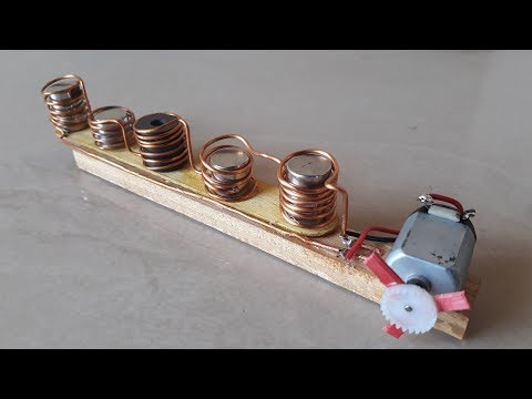 Free Energy Device with Neodymium Copper coil