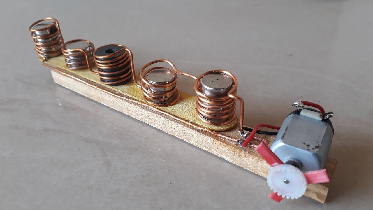 Free Energy Device with Neodymium Copper coil - YouTube