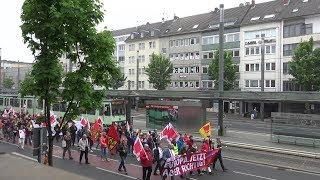 1. Mai-Demo 2019 am Bonner Bertha-von-Suttner-Platz