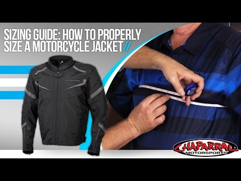 How To Properly Fit A Motorcycle Jacket Sizing Guide By ChapMoto.com