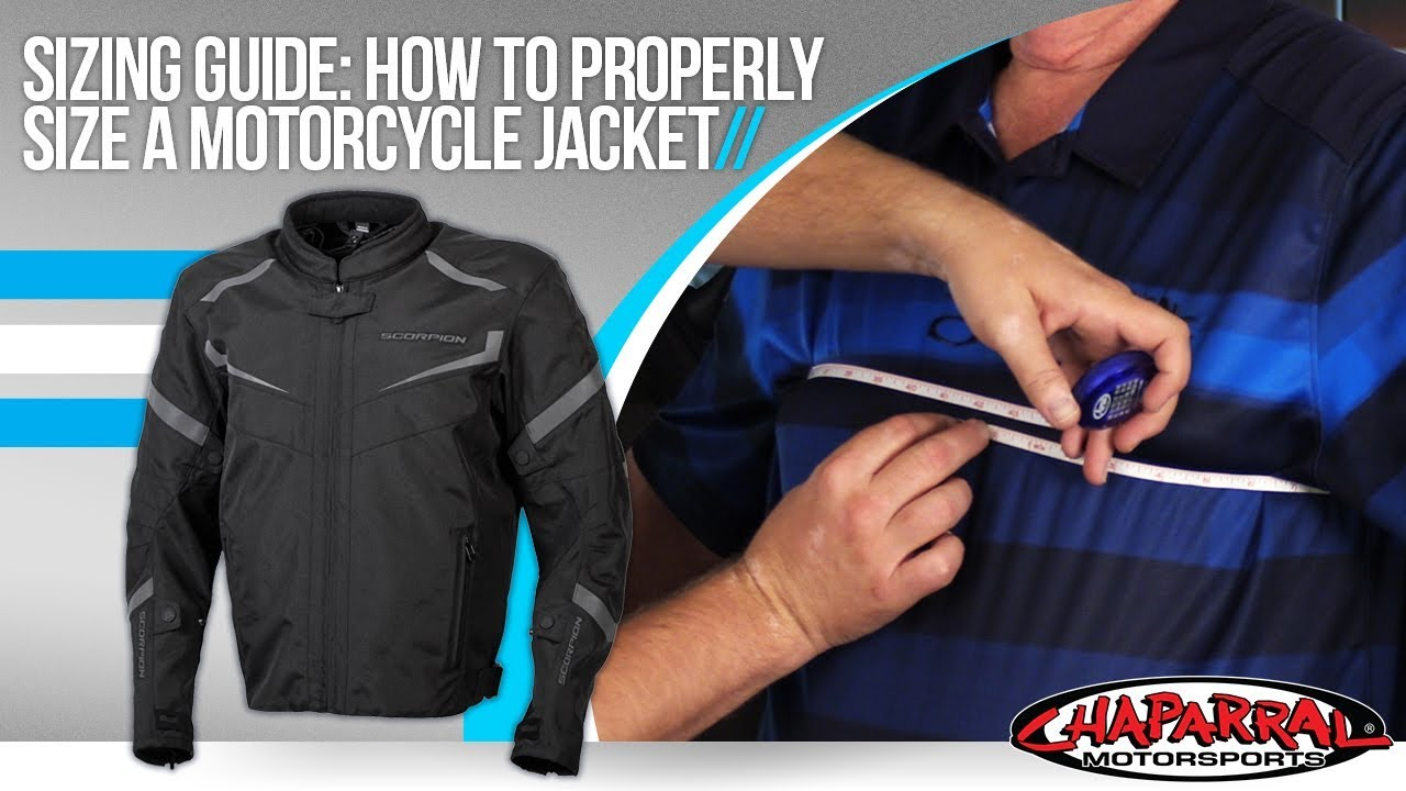 How To Properly Fit A Motorcycle Jacket Sizing Guide By Chapmoto Com