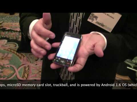Kyocera Zio Android phone demo